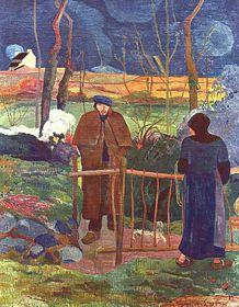 Paul Gauguin, 'Bonjour monsieur Gauguin', photo: Galerie nationale de Prague