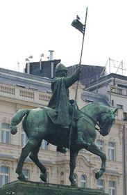 Estatua ecuestre de San Venceslao