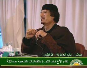 Muamar Gadafi, foto: ČTK