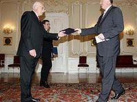 Vaclav Klaus et Mirek Topolanek, photo: CTK