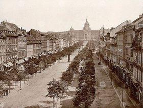 Wenceslas Square in 1890