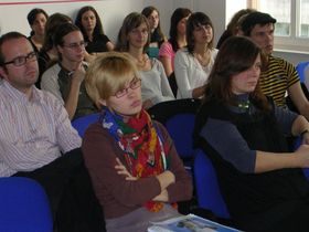 Konferenzteilnehmer (Foto: Maria Hammerich-Maier)