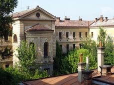 Former prison in Uherské Hradiště, photo: Michal Stránský / Memoria