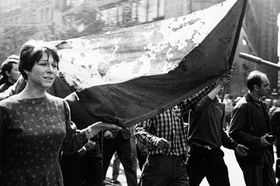1968 in Prague, photo: Oldřich Škácha