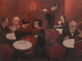 Milada Marešová: Prager Café (Foto: Archiv der Westböhmischen Galerie)