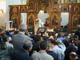 Кафедральный православный храм на улице Ресслова