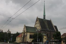 Костел св. Варфоломея, Пардубице, фото: Кристина Макова