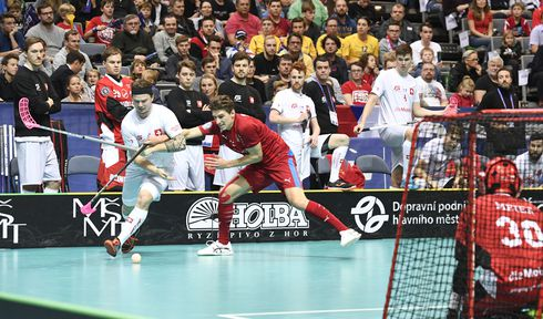The Czechs were defeated 2:4 by the Swiss team in the game for third place, photo: ČTK/Michal Kamaryt