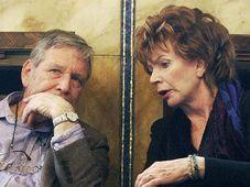 Amos Oz et Edna O'Brien, photo: CTK