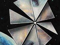 Solar-sail-powered spacecraft Cosmos 1, photo: CTK