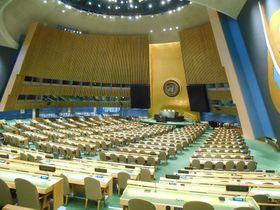 Генеральная Ассамблея ООН, Фото: Магда Кашубова