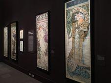 L'exposition d'Alfons Mucha au Musée du Luxembourg, photo: Kateřina Srbková