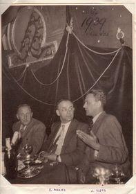 Франтишек Моравец (в середи́не́), 1939, фото: VHÚ