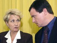 Milada Emmerová con David Rath, foto: CTK