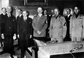 El 30 de septiembre de 1938 fue firmado el Tratatado de Munich que sacrificó Checoslovaquia a Hitler, foto: CTK