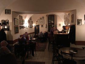 Interior of Literární kavárna, Řetězová St., photo: Ian Willoughby