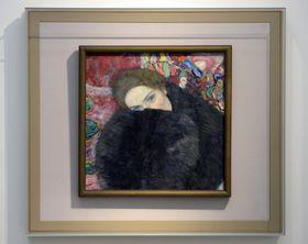 Картина Густава Климта «Дама с муфтой» (Фото: ЧТК)