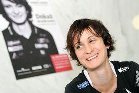 Martina Sáblíková, photo: Filip Jandourek, ČRo