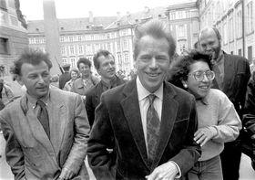 Михаэл Жантовски и Вацлав Гавел (Фото: ЧТК)
