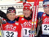 Katerina Neumannova, (à droite) photo: CTK