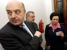 El ex ministro de Finanzas socialdemócrata, Ivo Svoboda, y su asesora, Barbora Snopková (Foto: CTK)