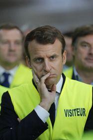 Emmanuel Macron, photo: ČTK