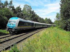 Zug aus München nach Prag (Foto: Marcel Lober, Bahnbilder)