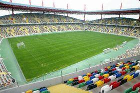 Estadio futbolístico en el Portugal, donde jugará la RCh 15 de junio de 2004 contra la Letonia,foto: CTK