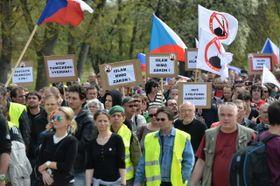 Los manifestantes del Bloque contra el Islam, foto: ČTK