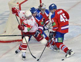 Lev Praha - Spartak Moscow, photo: CTK