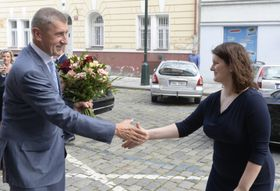 Andrej Babiš, Jana Maláčová, foto: ČTK/Šulová Kateřina