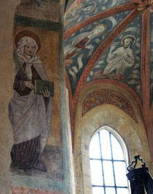 Santa Ludmila (a la izquierda), foto: Barbora Kmentová