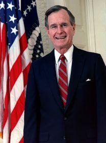 George H. W. Bush, photo: public domain