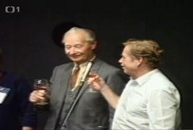 Александер Дубчек и Вацлав Гавел, фото: Чешское телевидение
