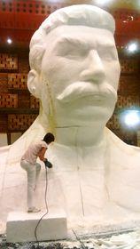 Работа над копией памятника, Фото: ЧТК