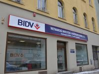 BIDV's Prague office, photo: Trieu Thi Huyen