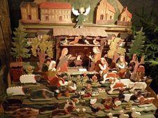 Один из экспонатов выставки вертепов, Фото: Антон Каймаков, Чешское радио - Радио Прага
