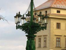 Канделябр на Градчанской площади, Фото: Кристина Макова, Чешское радио - Радио Прага