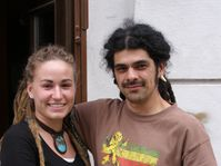 Zuzana y Diego Mora, foto: Carlos Ferrer