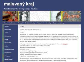Webseite Malovaný kraj