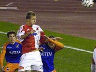 Slavia's Tomas Necid scores the winning goal, photo: CTK