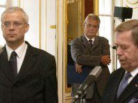 Президент Чехии Вацлав Гавел в пятницу назначил нового премьер-министра страны, фото ЧТК