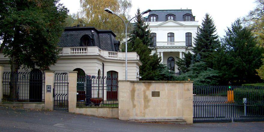 L'ambassade de Russie, photo: ŠJů, CC BY-SA 3.0