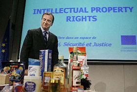 Evropský komisař pro spravedlnost Franco Frattini, foto: ČTK