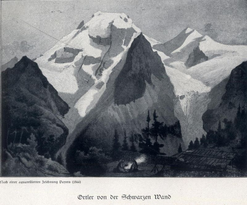 Julius Payer - 'Ortler Alps', photo: Public Domain