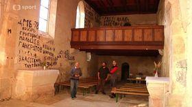 La Iglesia de San Nicolás, Boletice, foto: ČT
