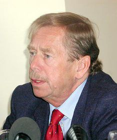 Ex-presidente checo, Vaclav Havel (Foto: Freddy Valverde)