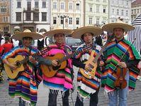 Mariachi Azteca de Praga, foto: www.webproject.cz/mariachi