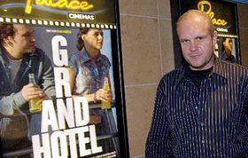 David Ondříček po tiskové konferenci knovému filmu Grandhotel, foto: ČTK
