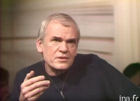 Milan Kundera, foto: Youtube / ina.fr (1984)